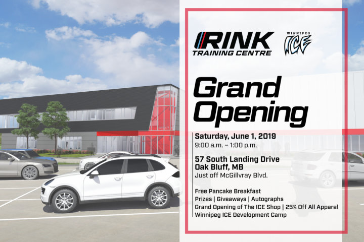 RINK Training Centre Grand Opening